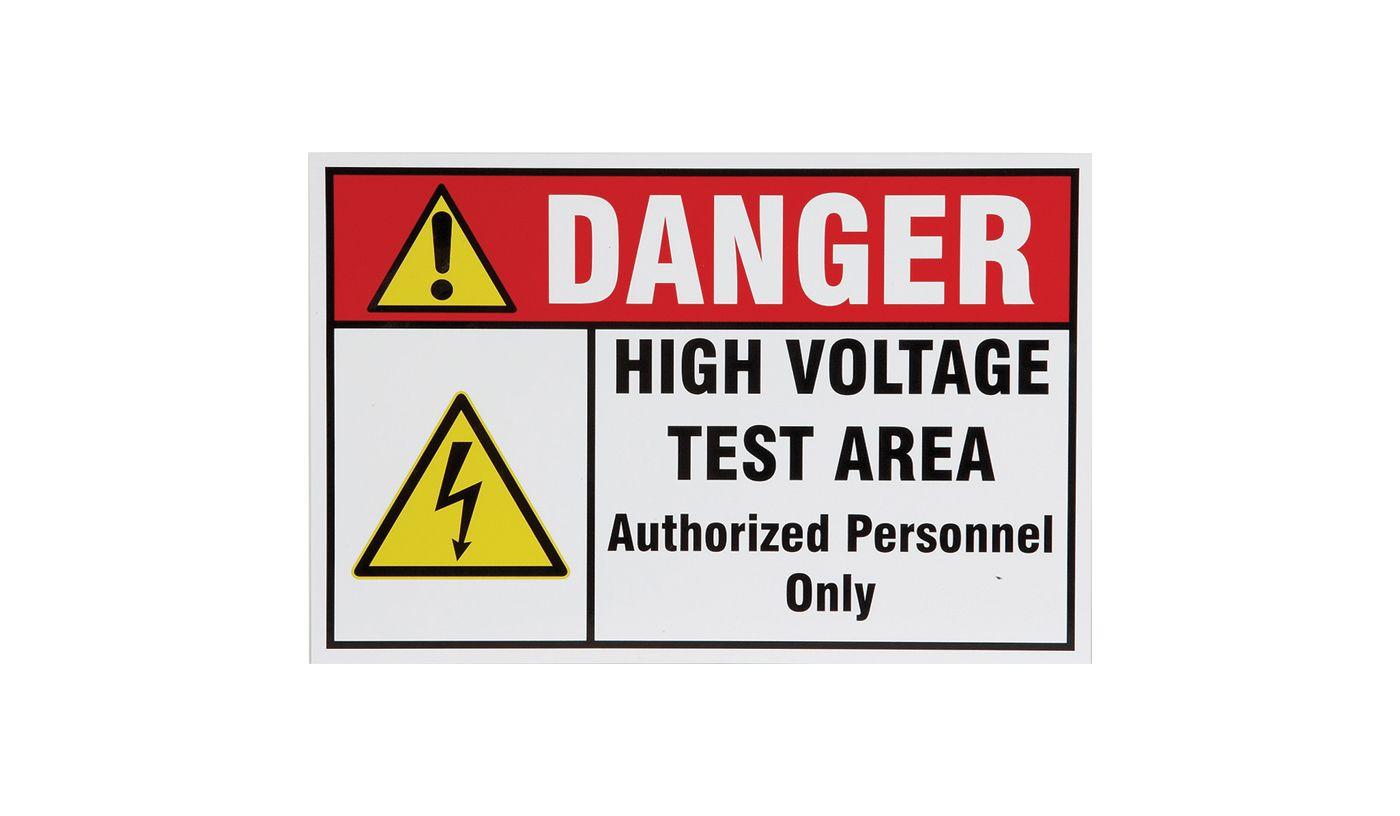Warning Sign - 39538