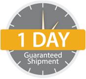 1 Business Day Shipment Guarantee